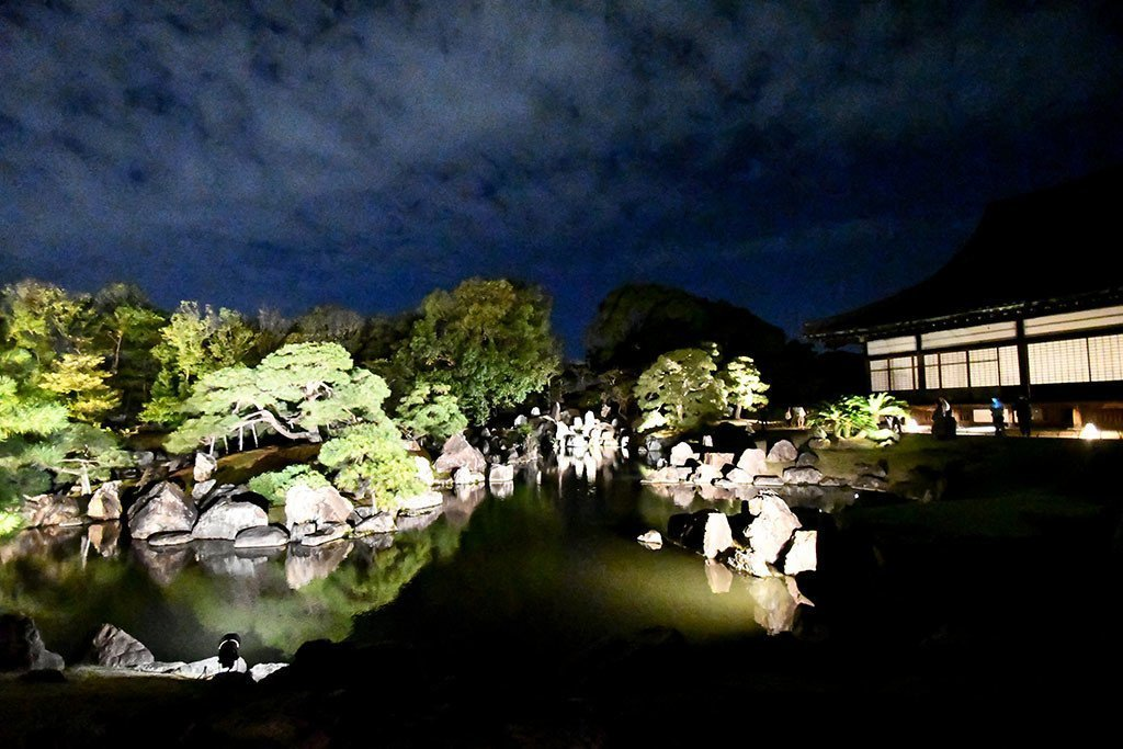 Nijo Castle Night Event 2018.