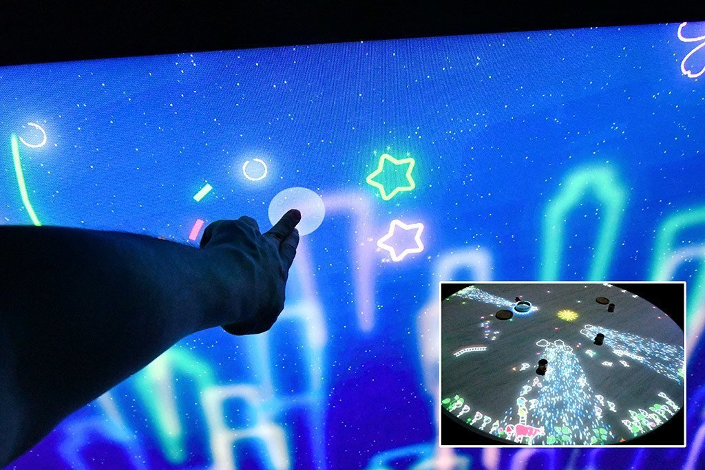 ArtScience Museum Interactive Games.