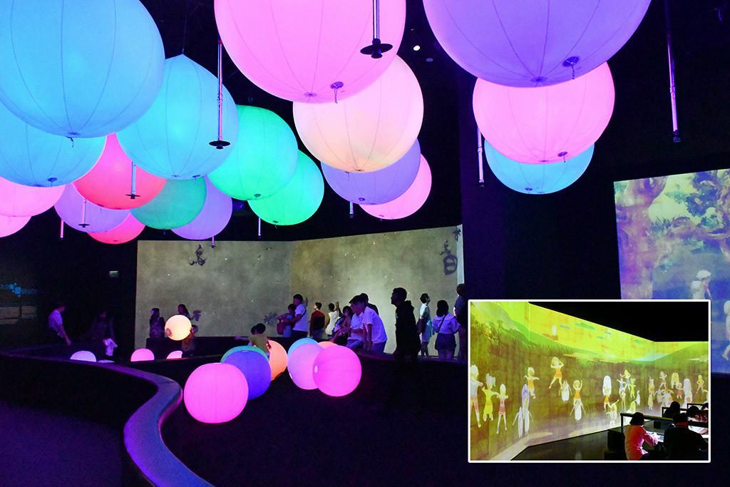 ArtScience Museum Singapore.