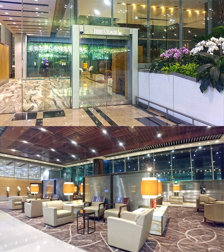 Singapore Airlines Suites and First Class Check-In Lounge