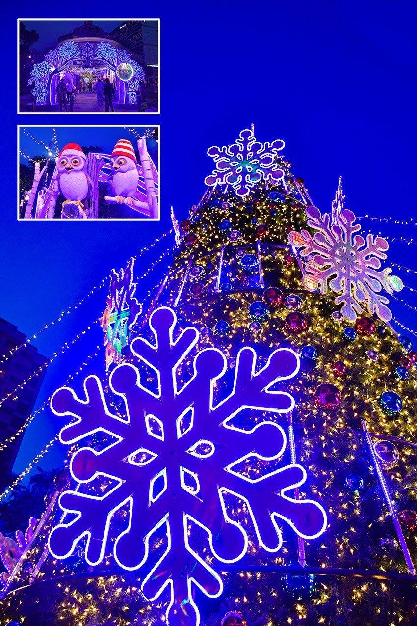 Tanglin Mall Christmas Winterland 2018.