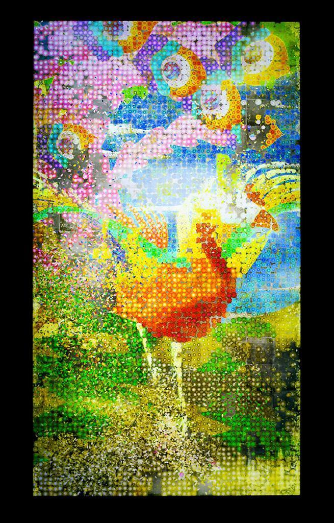 teamLab Borderless | Sunflower Phoenix