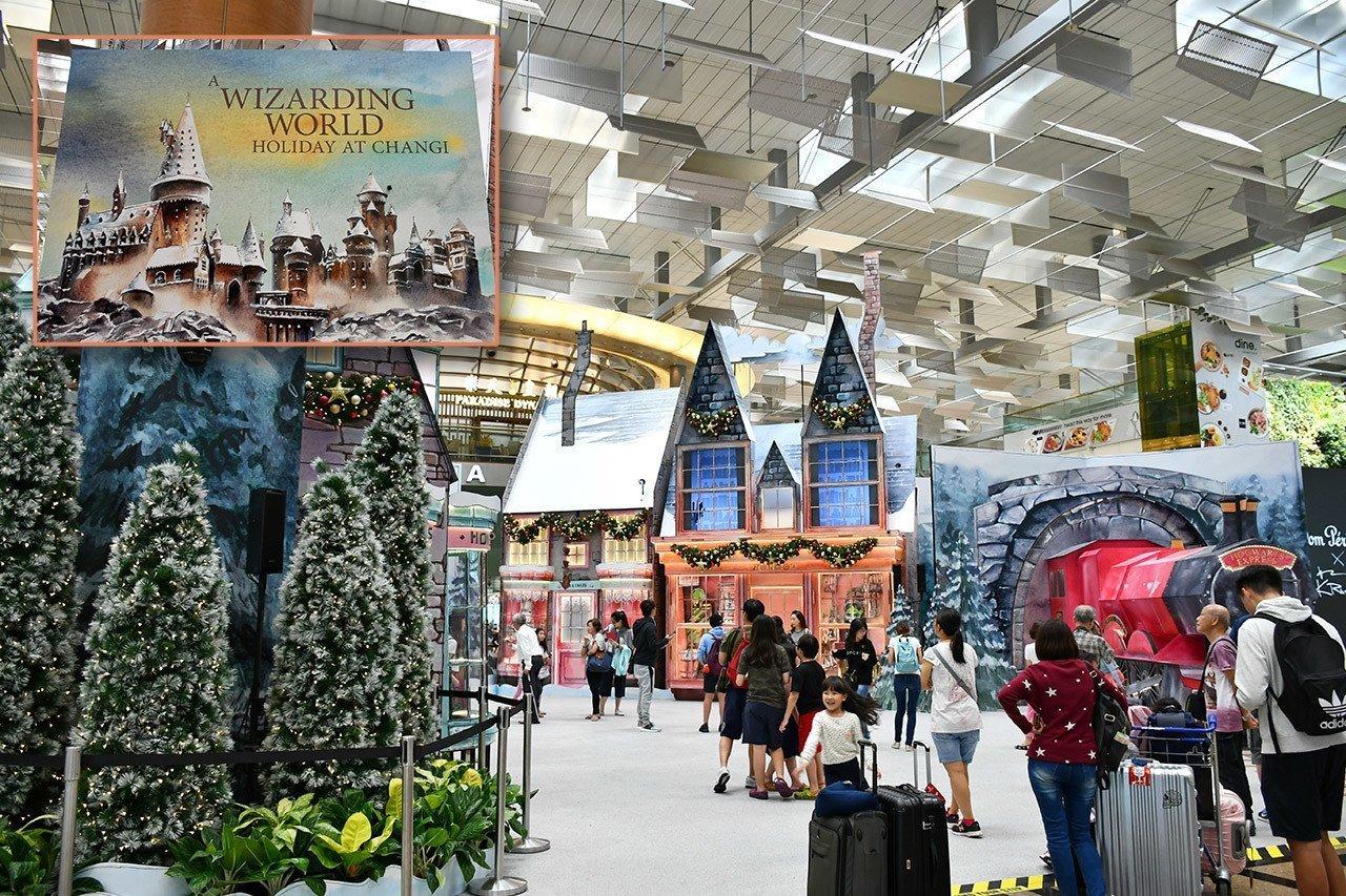 A Wizarding World Holiday at Changi Airport.