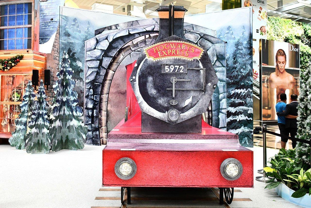 Hogwarts Express at Singapore Changi Airport.