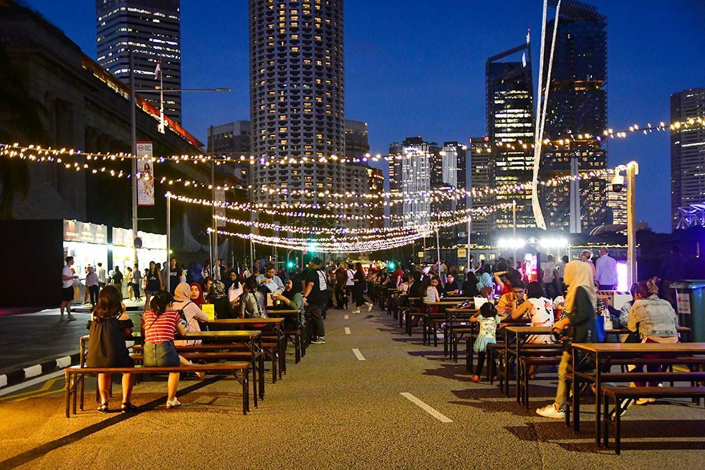 Singapore Festive Food Market at St Andrew's Road.