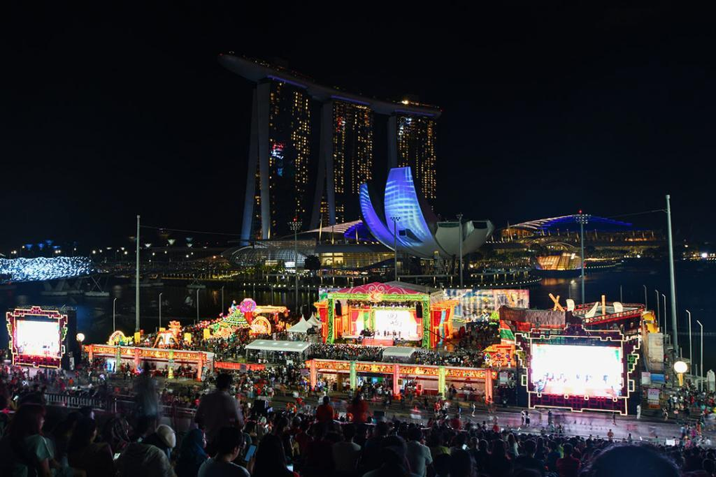 River Hongbao 2019 at Marina Bay