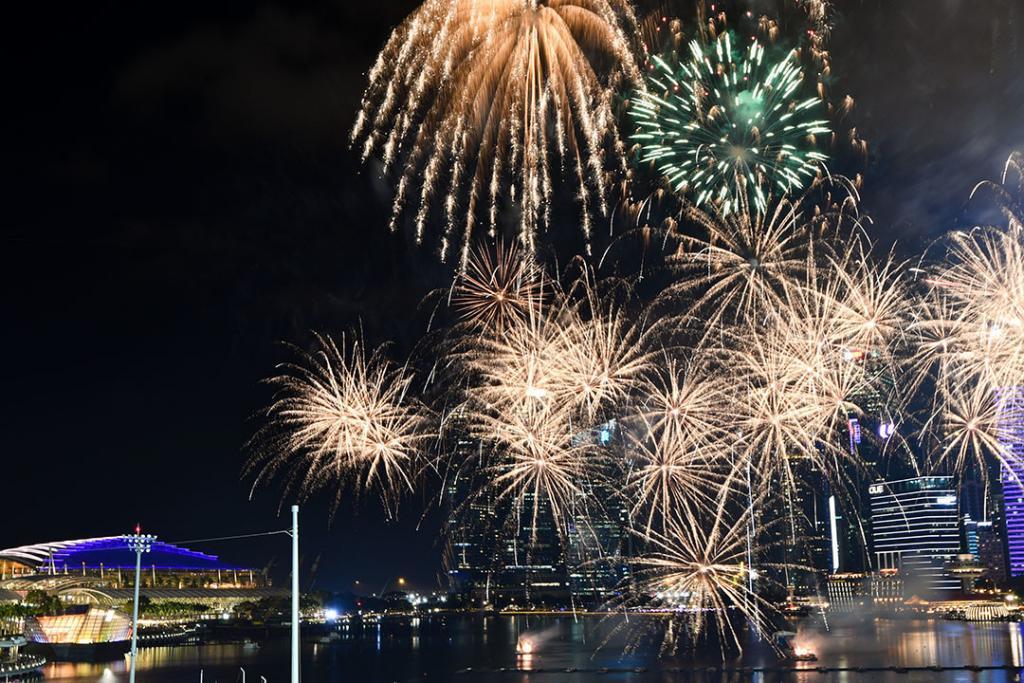 Marina Bay Firework.