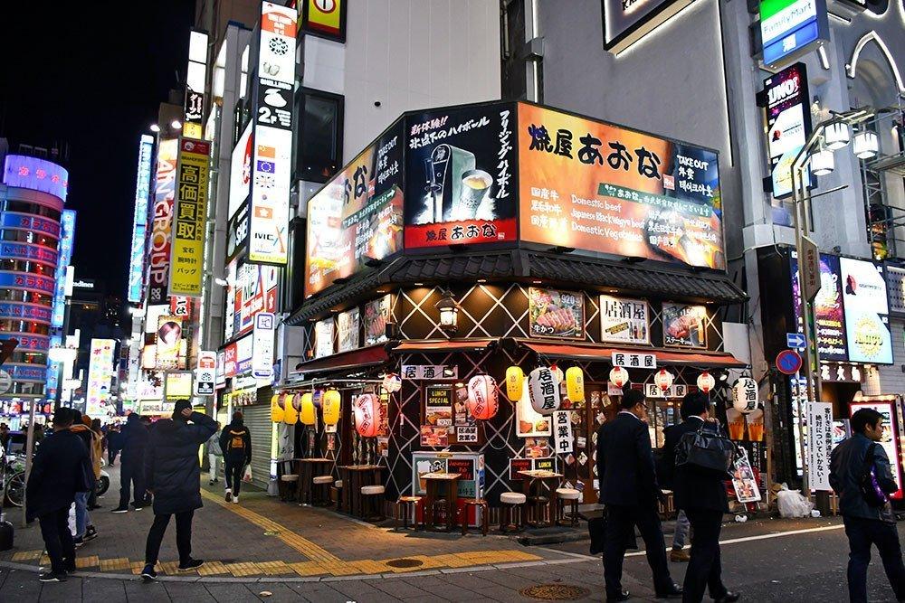 Kabukicho Junction Snack Shop.