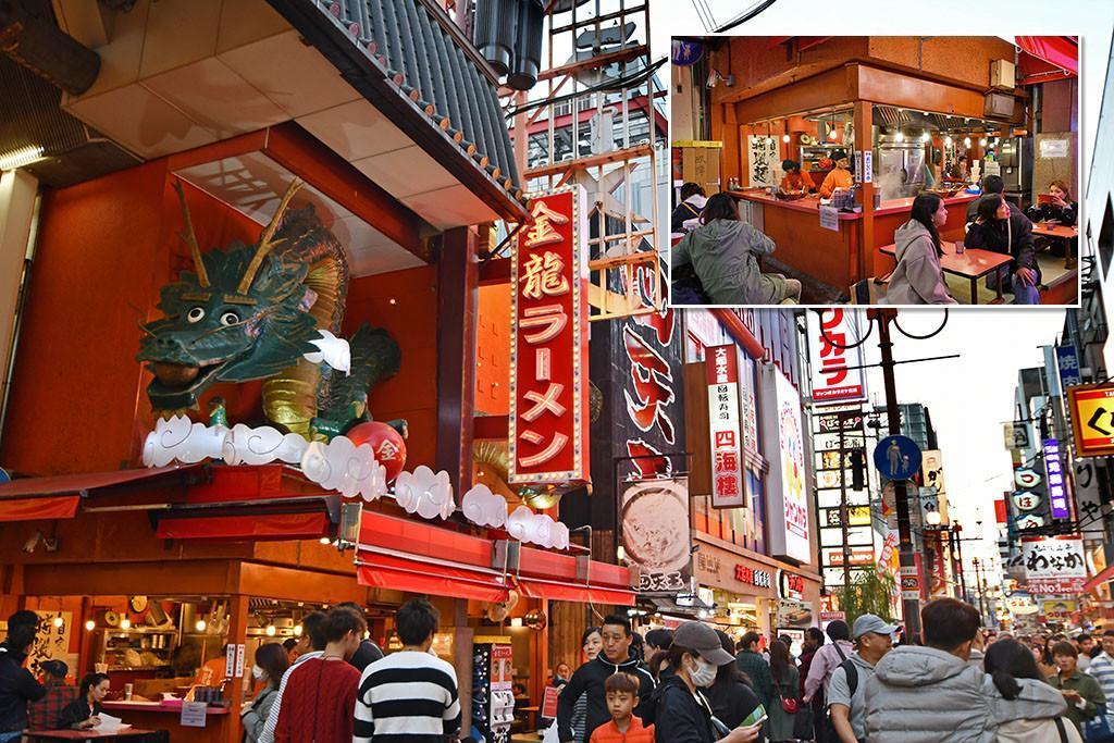 Visiting Sotenbori as a Yakuza Game Series Fan! | Kinryu Ramen