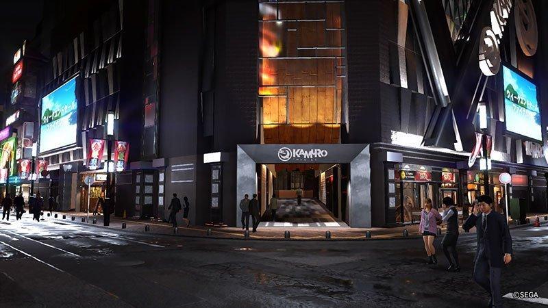 Yakuza 6 Millennium Tower Entrance.