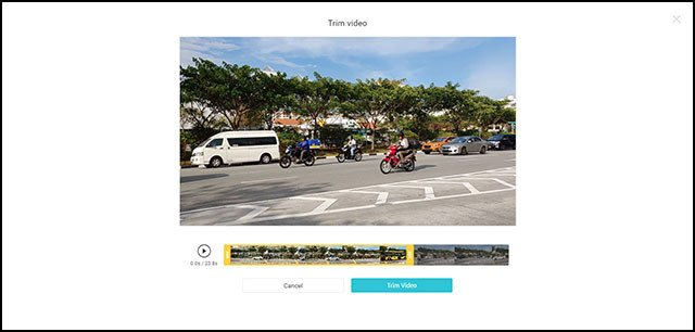 FlexClip Free Online Video Maker   Video Trimming Screen