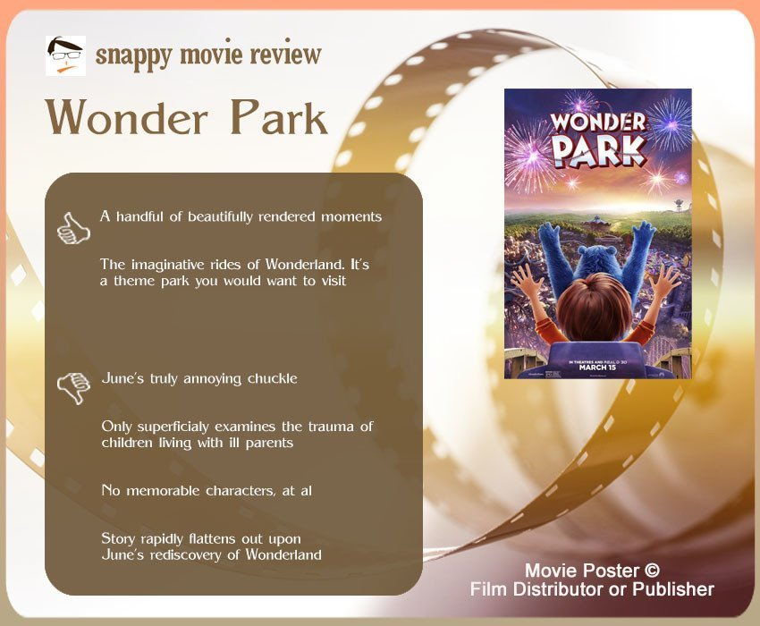 Wonder Park Movie Review: 2 thumbs-up and 4 thumbs-down