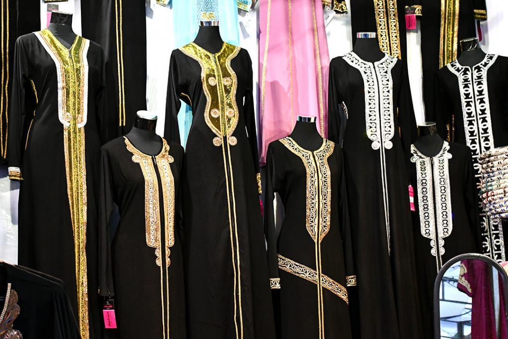 Eid al-Fitr clothes in Singapore.