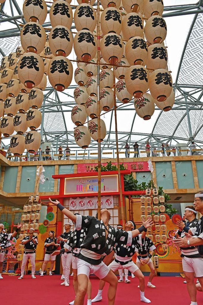 Akita Kanto Performance at Resorts World Sentosa.