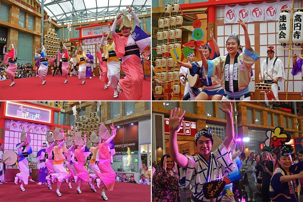 Resorts World Sentosa Summer Matsuri Awa Odori Performance