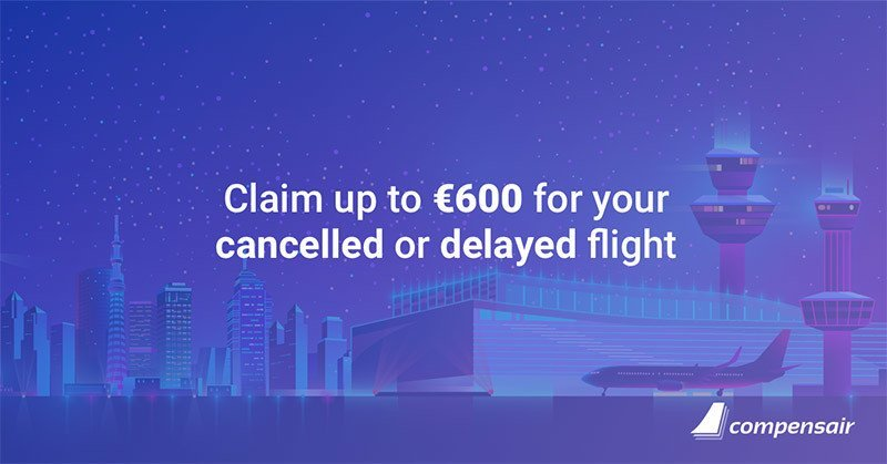 Flight delay compensation of up to EUR 600.