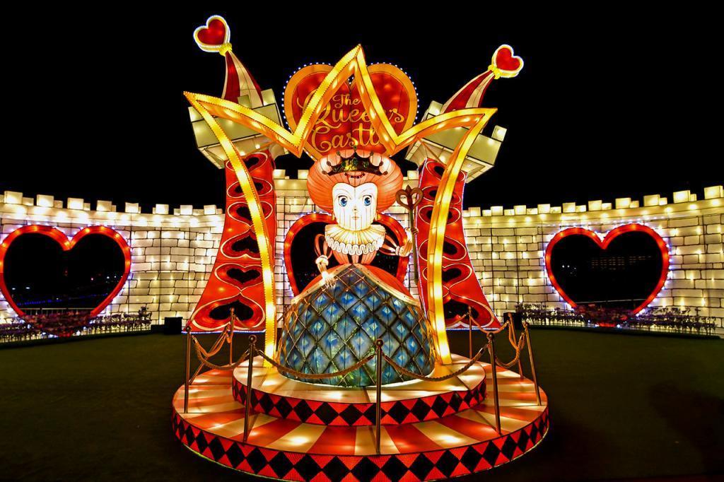 The Queen's Castle at VivoCity's Curious Adventures in Wonderland.