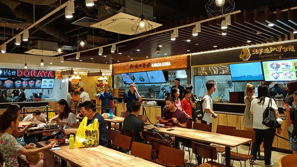 Donki Clarke Quay Food Court.