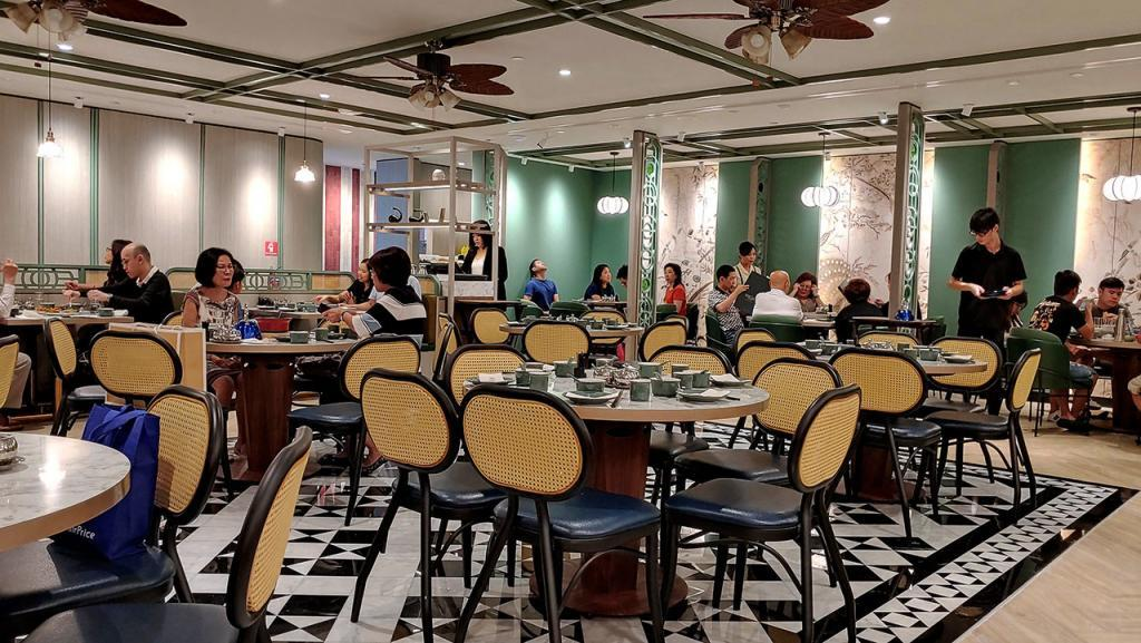 Kai Duck Takashimaya Restaurant Overview