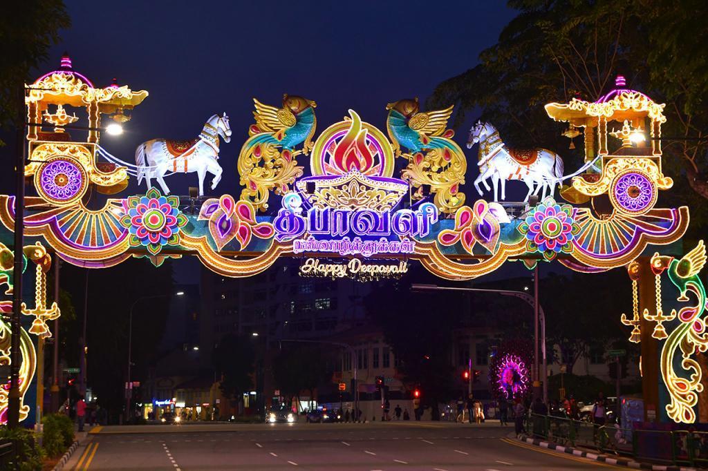 Little India Deepavali 2019 Festive Archway.
