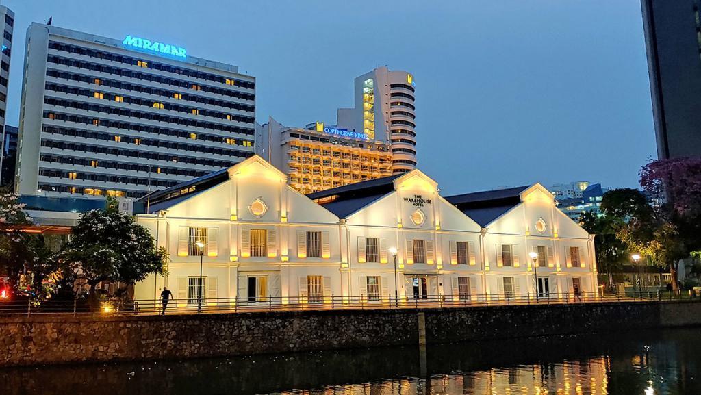 The Warehouse Hotel evening shot.