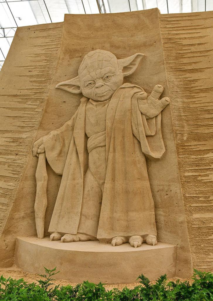Master Yoda | Sentosa Sandsation STAR WARS Edition