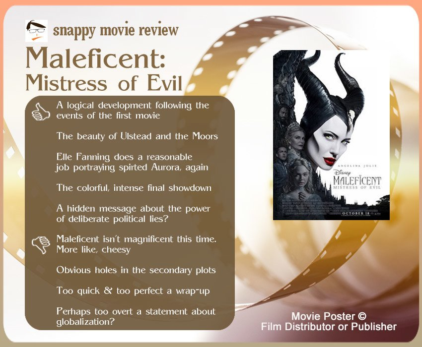 Maleficent: Mistress of Evil Review: 5 thumbs-up and 4 thumbs-down