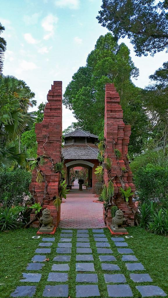 Fort Canning park, Singapore.