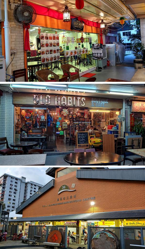 Telok Blangah Rise Market and Cafes