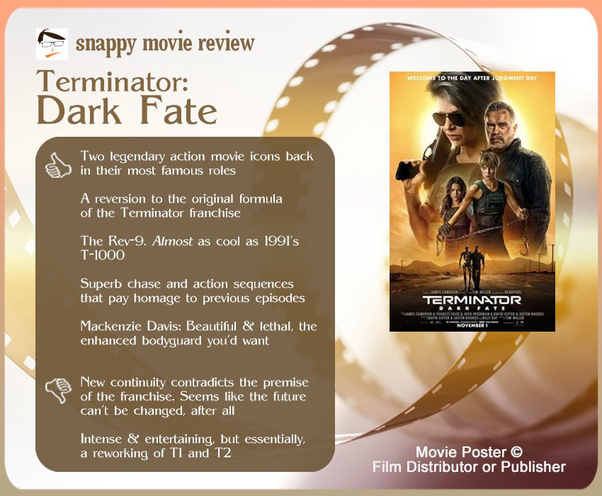 Terminator: Dark Fate Review: 5 thumbs-up and 2 thumbs-down