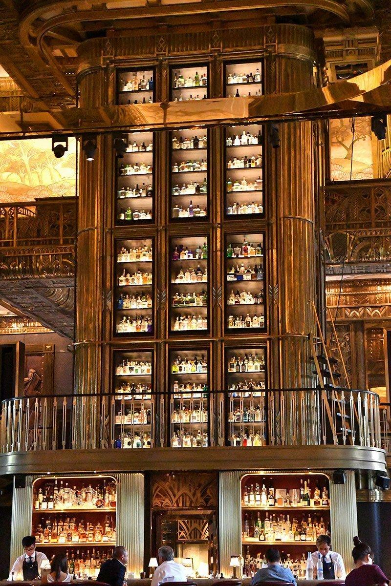 Atlas Bar Gin Tower