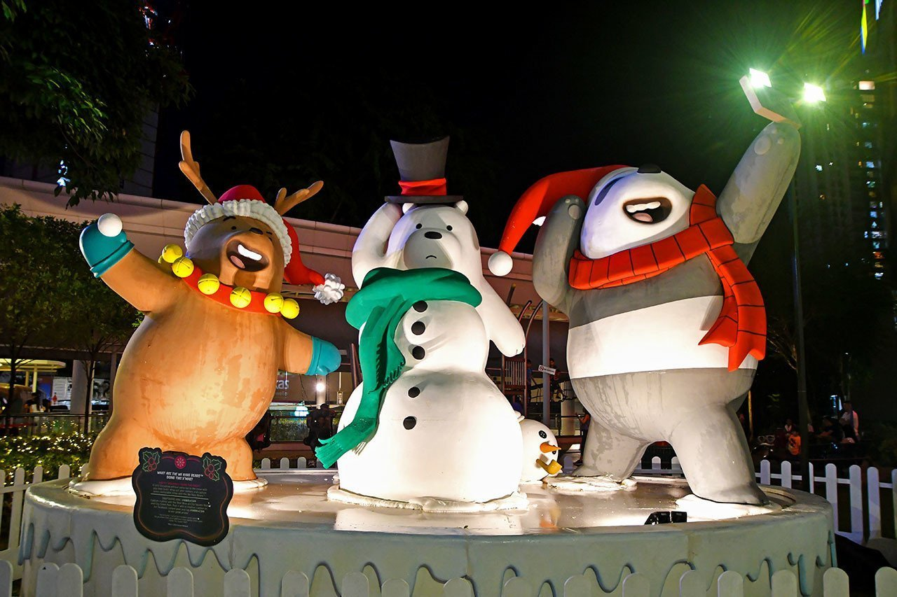 Christmas with We Bare Bears at City Square Mall