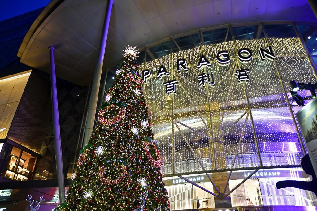 Paragon Singapore Christmas 2019