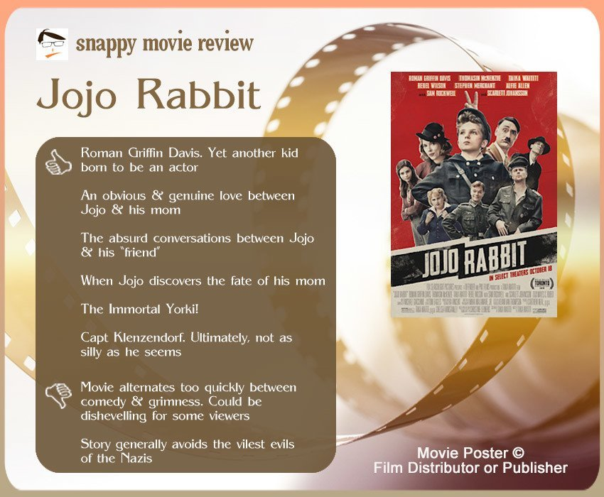Jojo Rabbit Movie Review: 6 thumbs-up and 2 thumbs down