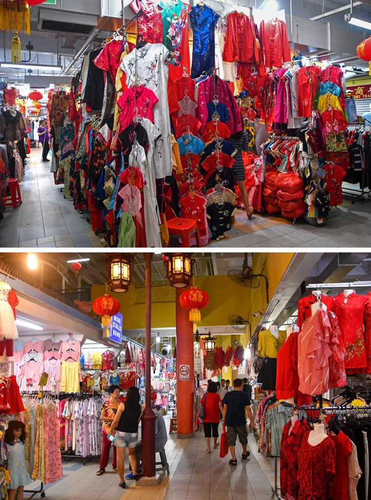 Chinatown Complex during Lunar New Year 2020.