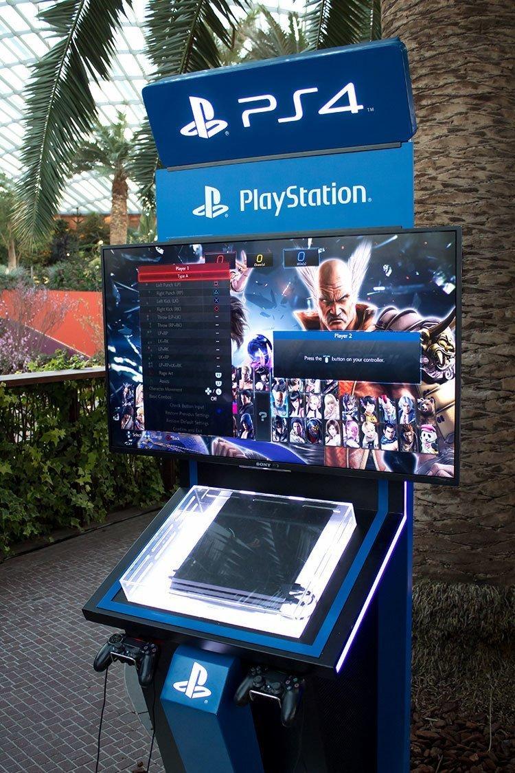 Flower Dome PlayStation 4 Corner.