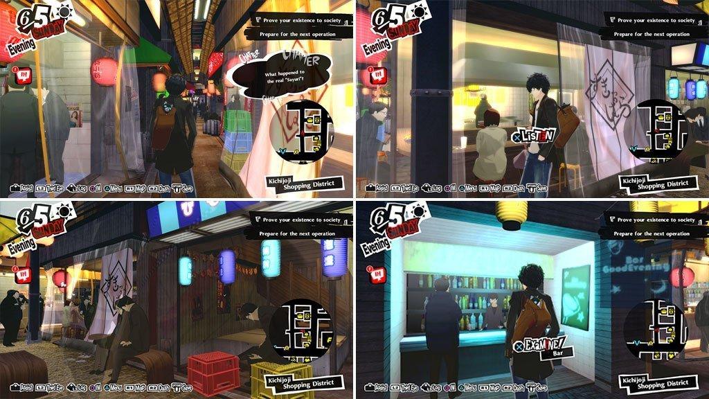 Persona 5 Royal Harmony Yokocho