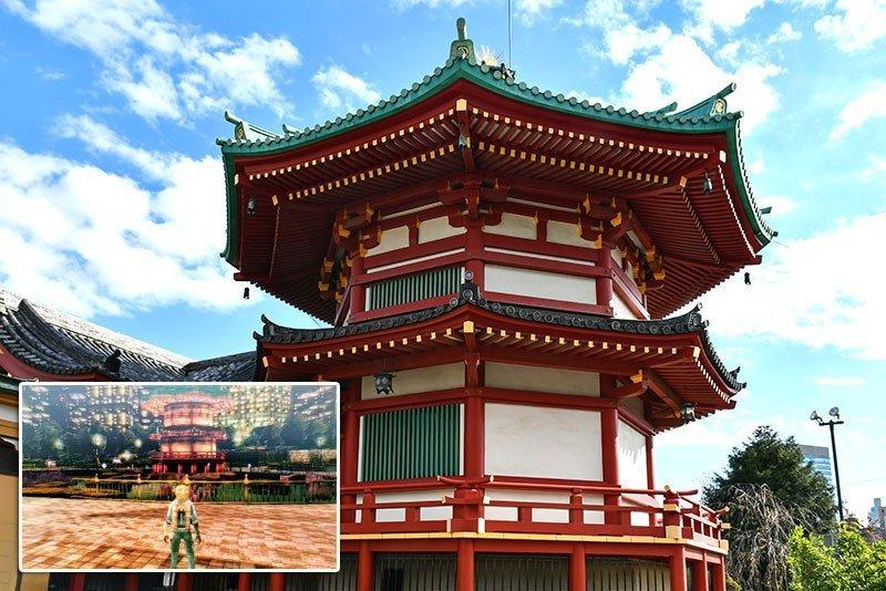 Shinobazu no Ike Bentendo Temple.