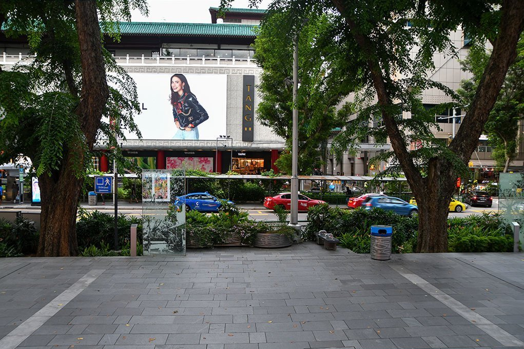 July 2020 Orchard Road.