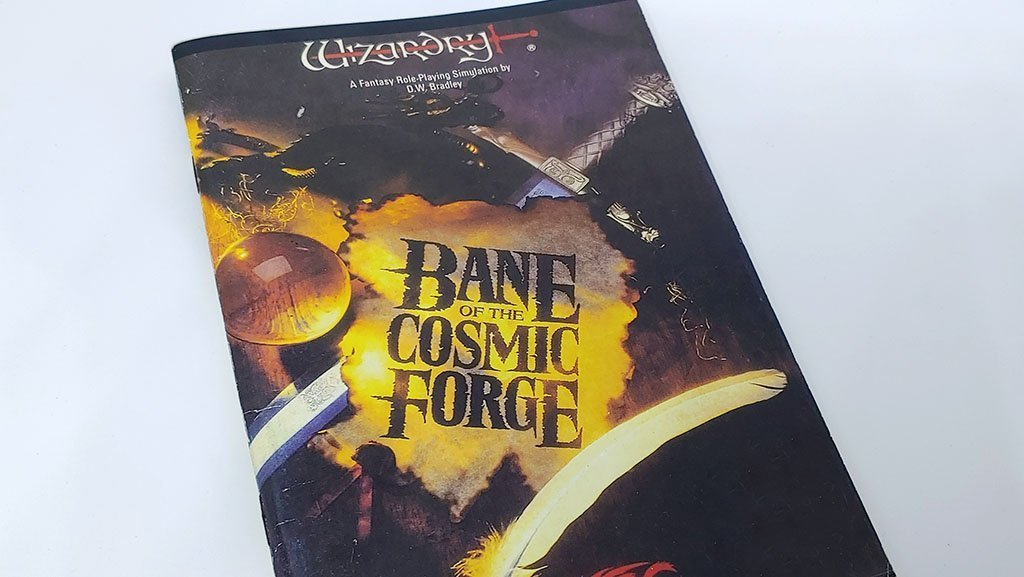 Wizardry 6: Bane of the Cosmic Forge Manual