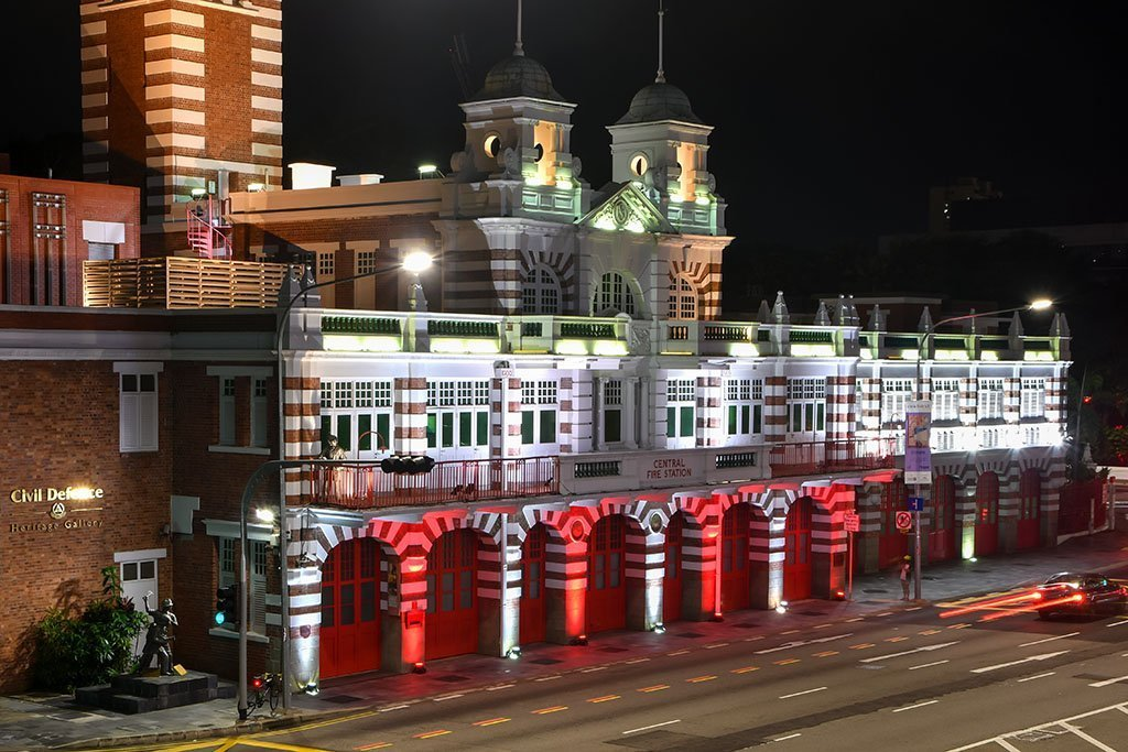 Singapore Central Fire Station, 62 Hill Street.