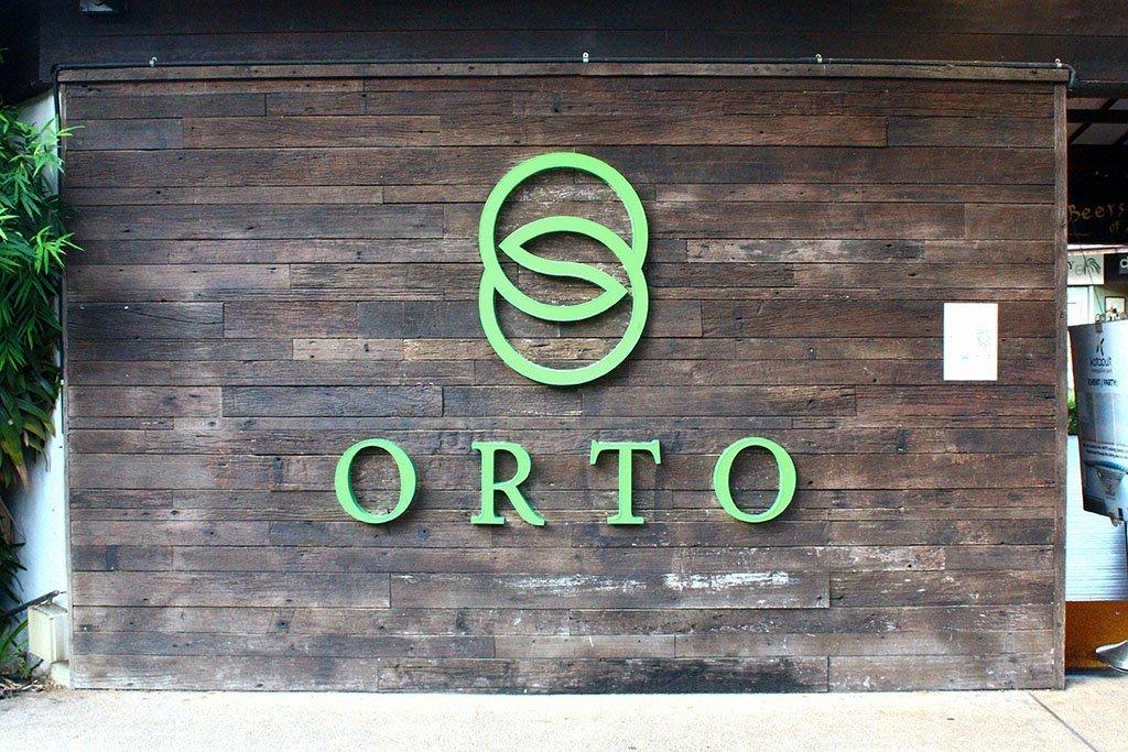 ORTO main entrance.
