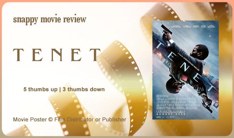 Tenet Movie Review