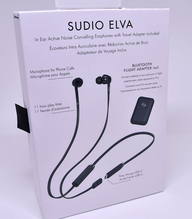 Sudio Elva Active Noise Cancelling Earphones Review.