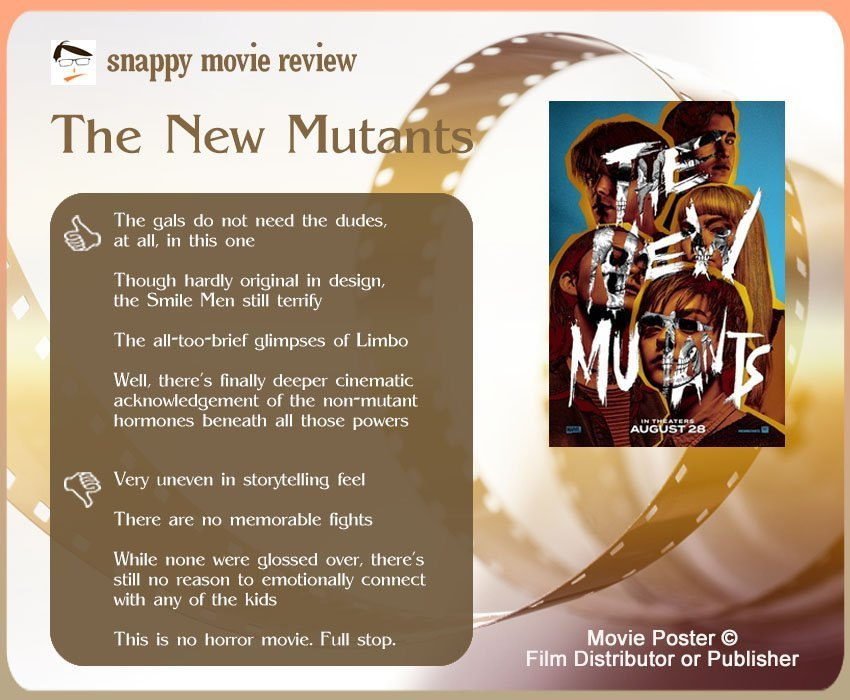 The New Mutants Review: 4 thumbs-up and 4 thumbs-down.