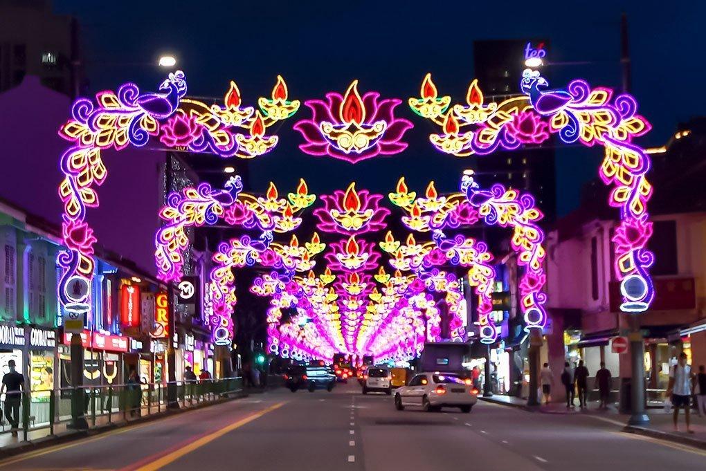 Diwali Singapore 2020.