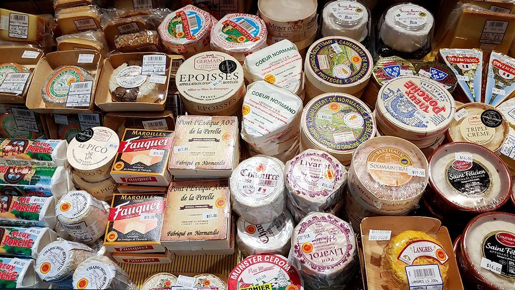 French Cheese Shop in Singapore.