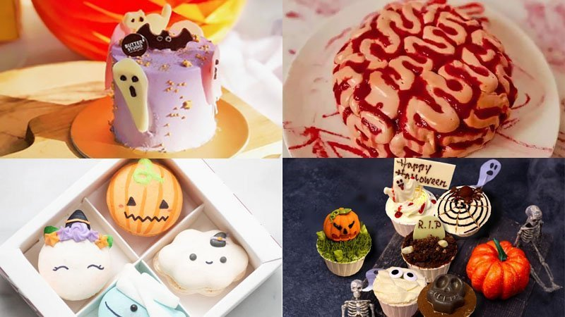 Singapore Halloween 2020 Cakes.