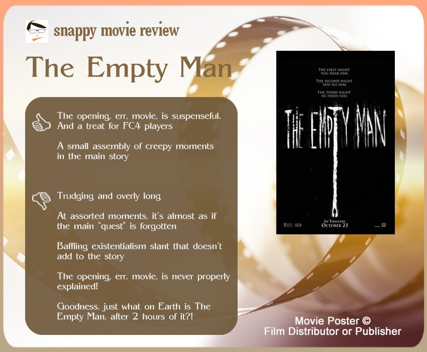 The Empty Man Review: 2 thumbs-up and 5 thumbs-down.