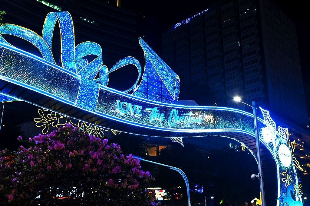 Orchard Road Christmas 2020.